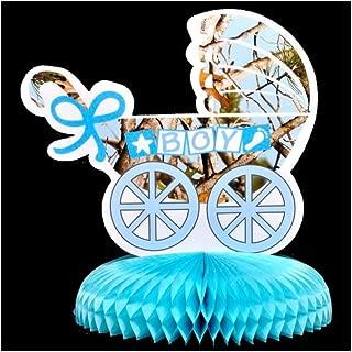 blue camo baby shower