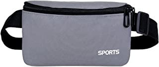 ZSYUNI Crossbody Bag Outdoor Sport Neutral Pure Color Oxford Cloth Shoulder Packet Chest Bag Handbags Waist Bag Rucksack Tote Bag