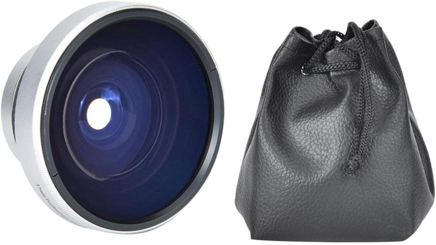 Denver Mall YUANJS Fisheye Lens Silver Strong outlet 0.25X Super Applicability 37mm