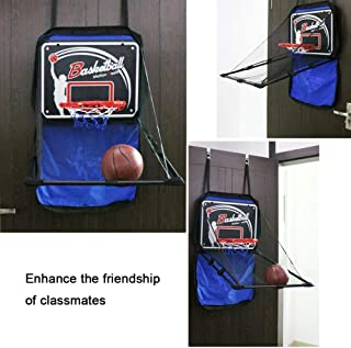 suitus88 Sports Basketball Toy Multi-Function, Portable Shooting Game Hanging Basketball Box Indoor and Outdoor
