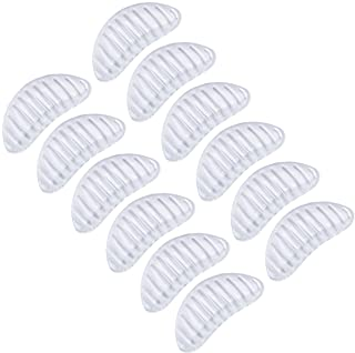 Madholly 6 Pairs Arch Support Shoe Insert for Flat Feet, Clear Adhesive Arch Support Pad for Women and Men