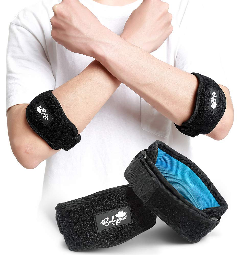 Opening large release sale Elbow Brace 2 Pack for Large discharge sale Golfer's Pain Tennis Relief