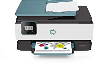HP OfficeJet 8015 Inyección de Tinta térmica 18 ppm 4800 x 1200 dpi A4 WiFi - Impresora multifunción (Inyección de Tinta térmica, 4800 x 1200 dpi, 225 Hojas, A4, Impresión Directa, Azul)