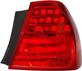Passengers Taillight Tail Lamp Quarter Panel Mounted Lens Replacement for BMW 3 Series & M3 Sedan 63 21 7 289 430 AutoAndArt
