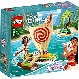 Amazon.co.jp - レゴ ディズニー モアナの海の冒険 43170