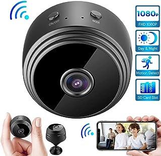 Cámara inalámbrica HD 1080P Mini cámara WiFi detección de Movimiento Inteligente notificación Push instantánea reproducción remota función magnética cámara V380 Pro App 1080P