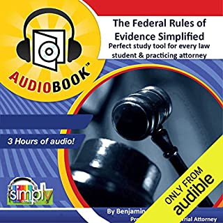 The Federal Rules of Evidence Simplified! audiobook cover art