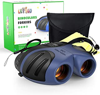 SOKY Binocular Impermeable para Niños (a Prueba De Golpes Y Compacto) – Regalo Y Juguete