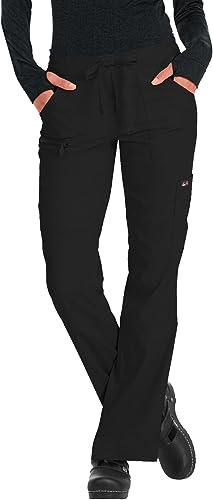 KOI Lite Performance Stretch Multi-Pocket Peace Scrub Pant for Women