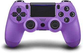Game Controller for PS4 (Electric Purple), Dual Vibration Compatible with Windows PC & Android OS, Wireless Bluetooth Cont...