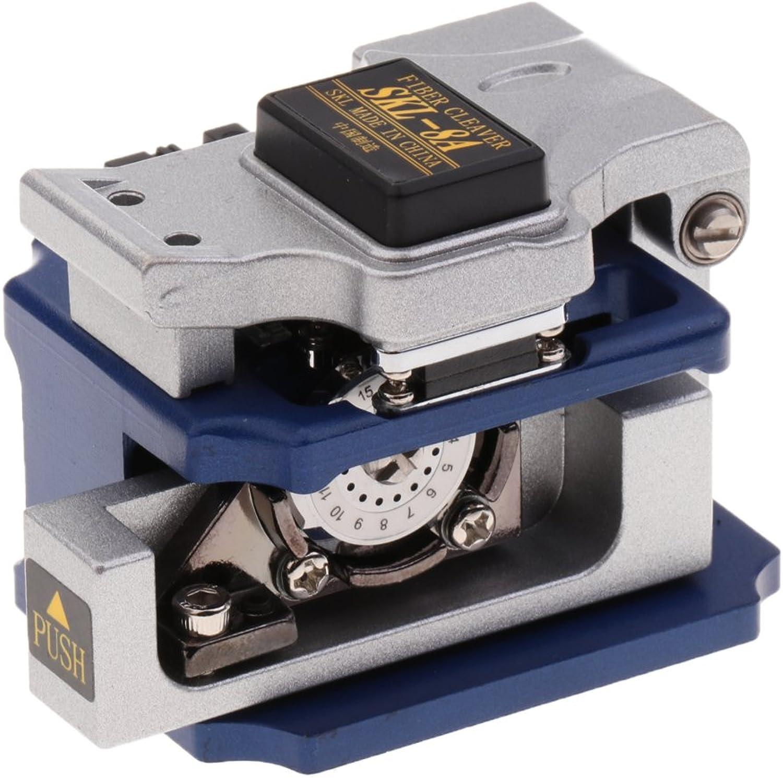 MagiDeal Hochpräzise Glasfaser Hackmesser Glasfaserleitung Schneidegerät Optische Faser Schneidwerkzeuge SKL-8A Blau B07FCK9QXD | Authentische Garantie