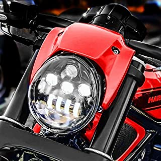 Eagle Lights V-Rod LED Projection Headlight for Harley Davidson 2002-2016 V-Rod models (Black)
