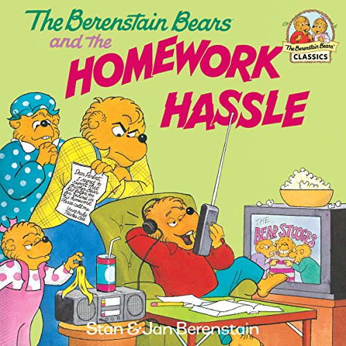 The Berenstain Bears and the Homework Hassle (First Time Books(R)) (English Edition)