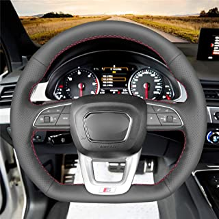 pour Audi 2017 2018 2019 Q3 Q5 Q7 S3 S5 SQ5 SQ7 R8 A3 A4 A5 TT TTS CYBHR Les palettes au Volant de Voiture /étendent Les Autocollants DSG des palettes de Changement de Vitesse
