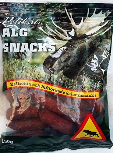 Elchsnack - Direkt Charks Älg Snacks, 150g