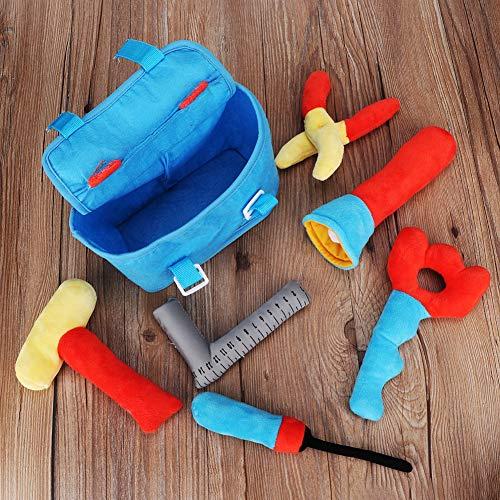 Bicaquu Realistisches Simulations-Toolkit Kinderspielzeug, Rollenspiel Plüschtierreparaturspielzeug Spielhausspielzeug, für Kinder für Jungen