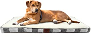 American Kennel Club Tufted Pet Crate Bed Mat, Machine Washable, Anti-Slip, Reversible, Ideal for All Dogs & Cats
