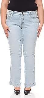 Sheego Pantaloni Pantaloni Stretch ETHNO-Look Estate Tempo Libero-Pantaloni Grandi Dimensioni Beige