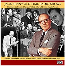 Jack Benny MP3 DVD Complete Radio Broadcast Collection