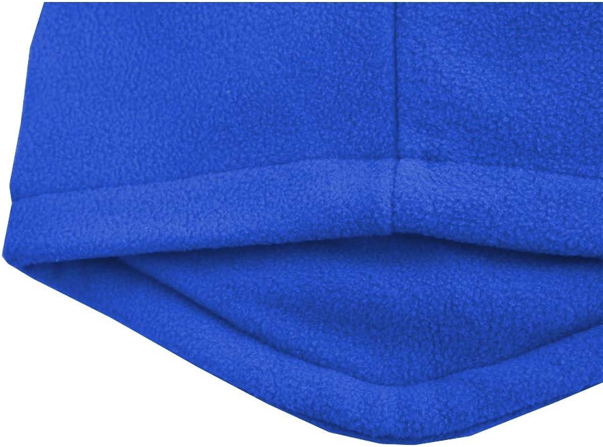 M2C Parent Child Winter Double Layer Fleece Balaclava Adjustable Ski Mask Hood