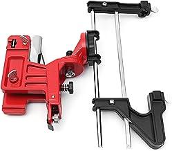 CHIMAKA Manual de sierra de cadena Afilador Afilador Barra montada en un paquete de herramientas de abrazadera de limado Nuevos accesorios de bricolaje