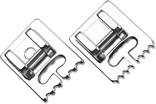 DREAMSTITCH 200317009 Snap On Pintucking Presser Foot Set for Babylock,Elna,Janome,Pfaff Sewing Machine ALT:495400-20, 200317021-200317009