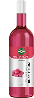 The Tea Planet - Bubble Gum Syrup to Coffee, Tea, and Specialty Cocktails, Non - GMO, Gluten-Free, Vegan (700 ml )
