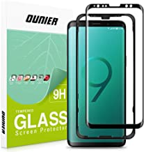 OUNIER Galaxy S9 Tempered Glass Screen Protector [Easy Installation] [Case-Friendly] Update Version, Samsung S9 Screen Protector with Installation Tray for Galaxy S9
