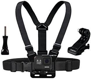 Cewaal Sports Actioncam ProCCBetter CS710 Navitech Action Camera Backpack /& 18-in-1 Accessory Combo Kit with Integrated Chest Strap Compatible with The Camsports Evo 1080