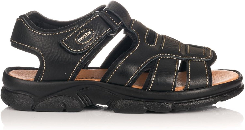 GOMEZ Men's Thong Sandals black Black 5