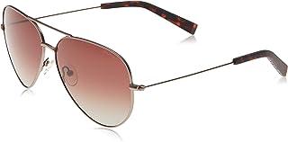 نظارات شمسية للرجال من نوتيكا، لون بني، 60 ملم، N4639SP