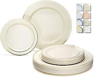 plastic wedding plate sets