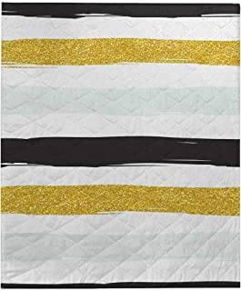 Best white striped quilt Reviews