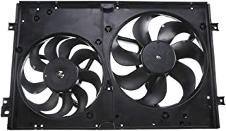 A-Premium Radiator Cooling Fan Assembly with Motor for Audi TT TT Quattro Volkswagen Clasico Golf Jetta 1999-2014