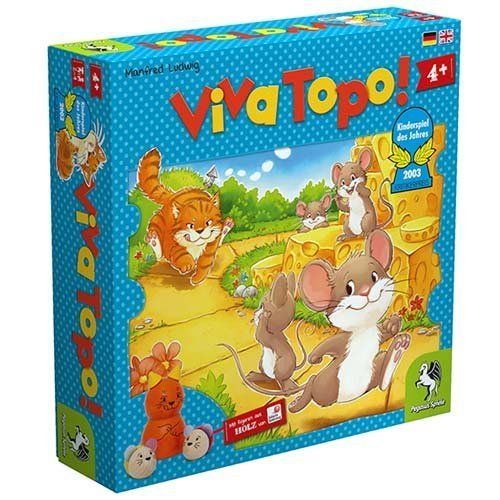 ねことねずみの大レース (Viva Topo!) PG66003 ボードゲーム