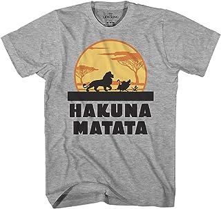 Best Lion King Hakuna Matata Pumbaa Timon Africa Simba Mufasa Disneyland World Adult Tee Graphic T-Shirt for Men Tshirt Review