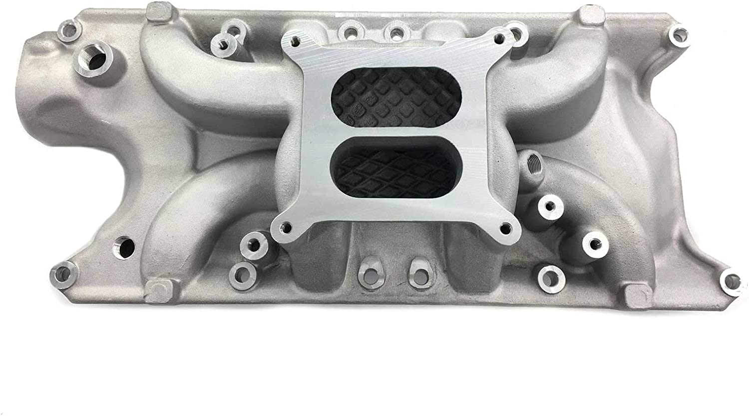 Aluminum Intake Dual Plane Low Cheap mail order specialty Spring new work store Rise Ford With Compatible