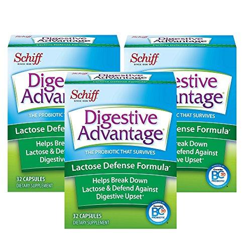 Lactose DefenseLactase Capsule - Digestive Advantage(32x3) Capsules,Breaks down lactose,...