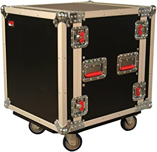 Gator Cases G-TOUR Deep Audio Road Rack with Heavy-Duty Casters and Tour Grade Hardware; 24