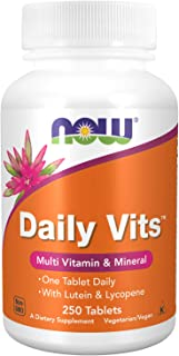 Now Foods Daily Vits Multi Standard - 250 Tabletas