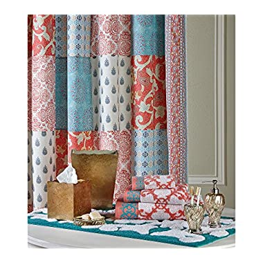Jessica Simpson INDIAN SUNRISE SHOWER CURTAIN 72 IN X 72 IN