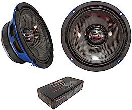 "$108 » American Bass 6.5"" Mid Range Speakers 400 Watts Max 4 Ohm Godfather 6.5CC Pair"