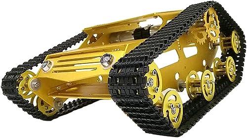 F Fityle Y100 Roboter Tankwagen Chassis Ersatz Mechanische Struktur Roboter DIY Kit