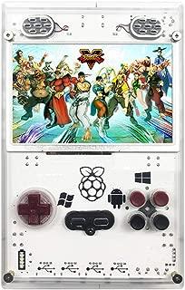 Whatsko Raspberry Pi ポータブルゲーム機 15000種ゲーム贈 レトロゲーム ラズベリーパイ ミニアーケード 多機能シミュレーター