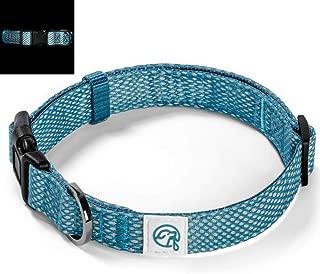 Embark Illuminate Reflective Dog Collar – Made with Reflective Material to Make Your Dog Collar Visible and Light at Night