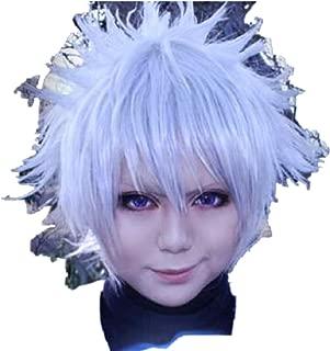 Hunter X Hunter Killua Zaoldyck Cosplay Costume Wig