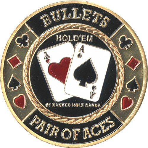 Pokerguard Poker Card Guard, Pokerzubehör (Bullets AA)