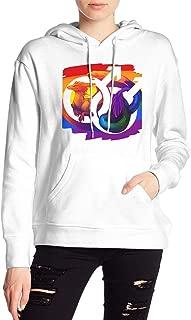 VJJ AIDEAR Gay Pride Dragon Women's Sweater Printed Hoodied Long Sleeve Coat