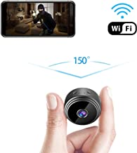 GXSLKWL Mini Spy Camera WiFi Hidden Camera, 1080P Wireless Small Indoor Home Security Cameras Nanny Cam with Motion Detect...