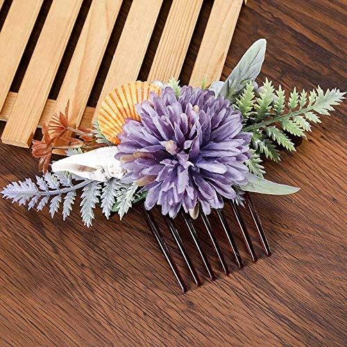 weichuang Accesorios para el pelo de novia para mujer, diseño retro, peines...